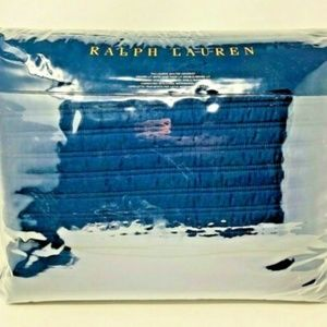 Ralph Lauren Bedding - Reed Quilted Coverlet - FULL / QUEEN - Polo Navy